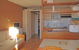 Résidence Le Belvédère appartement 104 - Studio cabine 6 personnes classé 1* de 29 m².