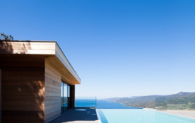 Architect's house up above Propriano
