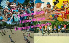 3 clubs enfants selon les âges