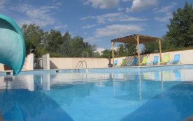 Camping Village Grand Sud   3* - Chalet 5 personnes - TITOM, 2 CHAMBRES