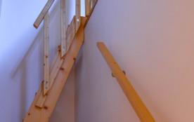 montée d'escaliers :mezzanine