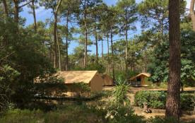 Huttopia Lac de Carcans, 243 emplacements, 37 locatifs