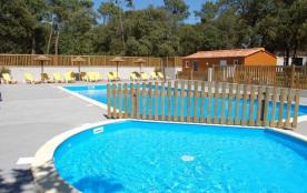 Camping La Ventouse - Mh 3ch 6/7pers 30m² + terrasse intégrée