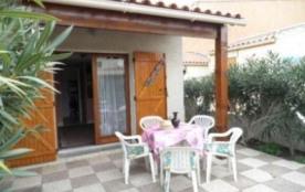 Gruissan (11) - Ayguades - Résidence Lagunes du soleil. Pavillon 2 pièces mezzanine - 30 m² envir...