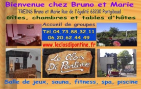 Accueil de groupe dans le Puy de Dôme pour 50 pers