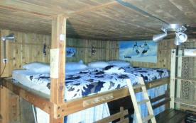 Le dortoir ou bas flanc. 1 lit en 160 +1 en 140