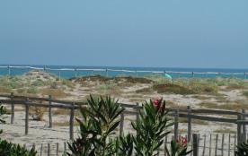 le truc bleu c'est la mer (et le ciel, et pour les plus observateurs un parasol)