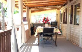 Terrasse couverte 18 M2