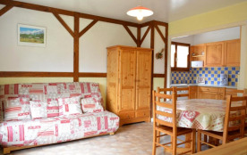 Appartement 2 pièces de 38 m² environ pour 5 personnes, la résidence Pointe Percée est située dan...