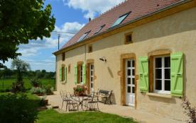 Domaine de la Guinchère :  Gîte 12 personnes en Bourgogne du Sud