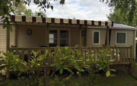 Location Mobil-home 6/8 couchages Domaine 4* au cœur des Châteaux de la Loire