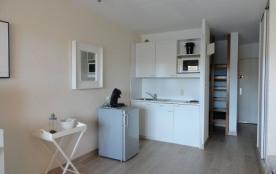 Appartement studio/cabine de 26 m² environ pour 4 personnes, située à 450 m de la plage, la résid...