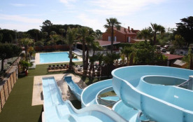 Camping le Soleil Bleu 4* - Mobil home 6 pers 2 chambres