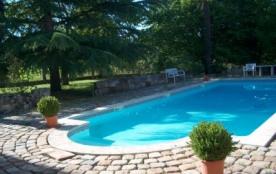 GITE DANS DEMEURE DE CARACTERE avec piscine - Laruscade