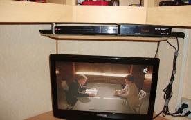 Téléviseur+Lec DVD+Démodul.