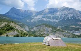 Campéole Le Lac, 202 emplacements, 98 locatifs
