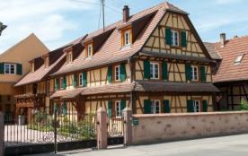 Gîte en Centre Alsace 2 à 5 personnes - Baldenheim