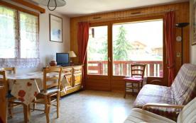 Appartement 3 pièces de 38 m² environ pour 6 personnes. La résidence Florimontagnes B est située ...