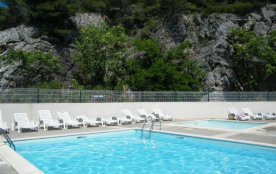 Superbe Villa T3 mezzanine, 6 couchages, située résidence Eden Roc, rue des Thons à Narbonne Plage.