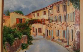 La ruelle vue par l'artiste