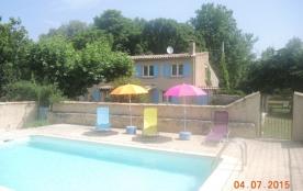 gite avec piscine privée au pied du mont Ventoux, Sault.6 personnes