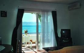 CROATIE, PISAK,riviera de Makarska, très bel appartement de villa 4 pers. superbe vue mer !