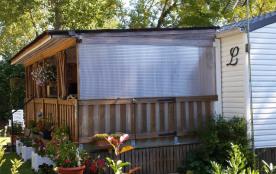 Agréable Mobil-Home pour vacances réussies avec grande terrasse sur emplacement calme