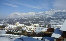 Meublé de tourisme 2 étoiles à 1200 m d'altitude avec vue sur la vallée