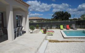 Villa climatisée avec piscine proche d'Uzès