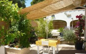 Quartier des Vignes - Villa mitoyenne de 40 m² environ pour 4 personnes situé à 800 m des plages ...