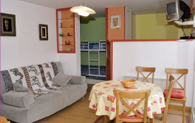 Studio cabine - 35 m² - 4 personnes - catégorie 3 - balcon - vue sur montagne.
