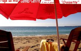 Cannes Plage. Appart UP Vue Mer 36 m2. Top Design. Pr. Centre. Piscine, Garage,