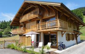 Charmant appartement tout confort  d'1 ch à SAMOENS avec garage en ssol.et parking ext.
