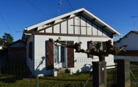 Quartier de la République, villa de 70 m² environ pour 5 personnes située à 1700 m des plages et ...
