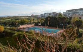 Appartement 2 pièces de 25 m² pour 4 personnes, une résidence composée d'un bloc d'immeubles de 4...