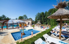 Camping le Moulin, 127 emplacements, 100 locatifs
