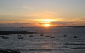 coucher de soleil à Gâvres