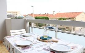 Port-la-Nouvelle (11) - Quartier plage - Résidence Le Sagittaire. Appartement 2 pièces- 36 m envi...