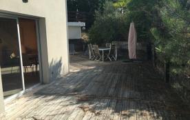 Cap-Ferret, maison agréable avec terrasse bien exposée.