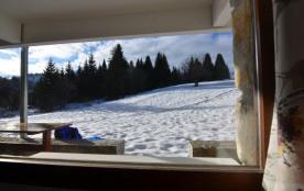 vue de l'extérieur depuis le salon