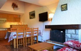 Appartement 3 pièces de 50 m² environ pour 6 personnes, la résidence Chante-Neige 2 est située da...