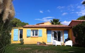 Mini villa Palombaggia vue mer et maquis/piscine