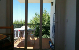 terrasse vue du salon
