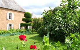 Entre Bayeux , Ste Mère Eglise, St Lô , gite de caractère  au jardin : 2/4 pers