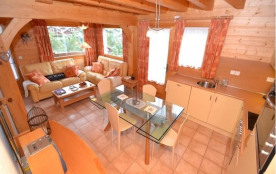 FR-1-391-16 - Chalet mitoyen 6 pers. emplacement exceptionnel!