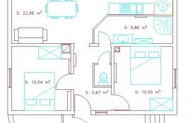 Un plan du logement