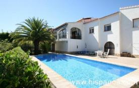 Location de vacances à Calpe - Villa avec piscine costa blanca