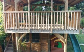 la grande cabane : le coin des enfants heureux