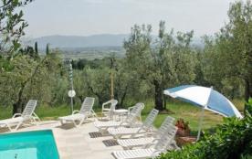Toscane, Monte San Savino, belle villa pr 8 à 10 personnes, piscine privée, splendide vue !