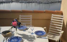 Gruissan (11) - Port - Résidence Méridiennes - Appartement 1 pièce avec coin nuit de 23 m² enviro...